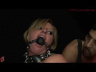 Treated hard, just like a whore deserves.BDSM bondage sex movie.