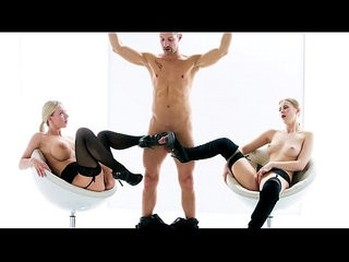 The white boxxx blonde beauties nataly cherry and casey a in softcore bdsm threeway