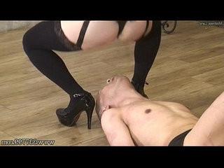 MLDO Masochist man go is captive of bondage Mistress Land