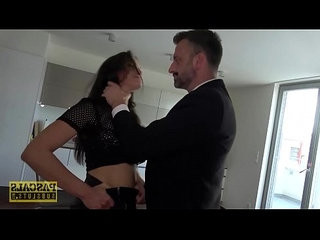 Pascalssubsluts busty barbara bieber gagging on dom cock