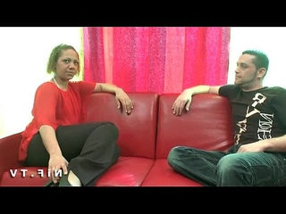 Anal casting couch of a french milf in stockings