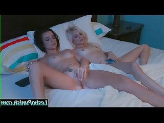 Lovely Lesbo Girls Piper Perri Kharlie Stone Play With Sex Toys Punish Act Scene