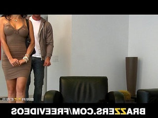 Stunning busty asian maid katsuni fucks her bosss big dick